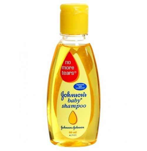 JOHNSONS BABY SHAMPOO - NO MORE TEARS - 60 ML