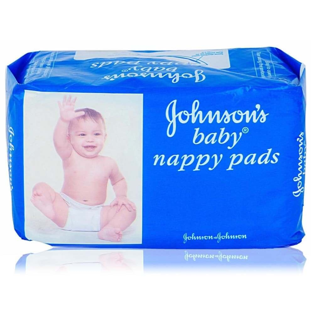 JOHNSONS BABY NAPPY PADS - 20 PCS