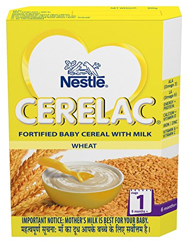 NESTLE CERELAC STAGE 1 WHEAT - 300 GM