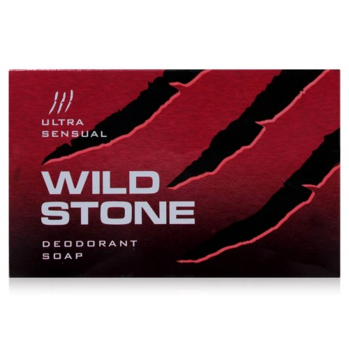 WILD STONE ULTRA SENSUAL SOAP (RED) - 75 GM
