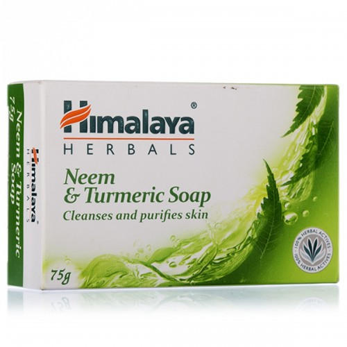 HIMALAYA SOAP - NEEM & TURMERIC - 75 GM CARTON