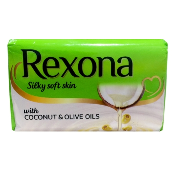 REXONA SILKY SOFT SKIN SOAP - 150 GM