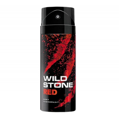 WILD STONE BODY DEODORANT - RED - 150 ML