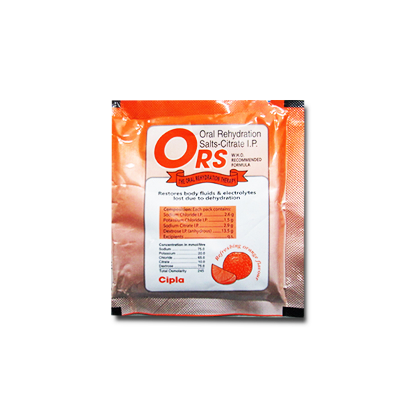 ORS ORANGE POWDER - 21 GM