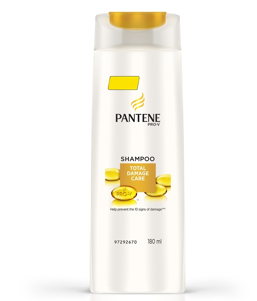 PANTENE TOTAL DAMAGE CARE SHAMPOO - 180 ML