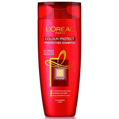 LOREAL PARIS SHAMPOO - COLOUR PROTECT FOR COLOURED HAIR - 75 ML