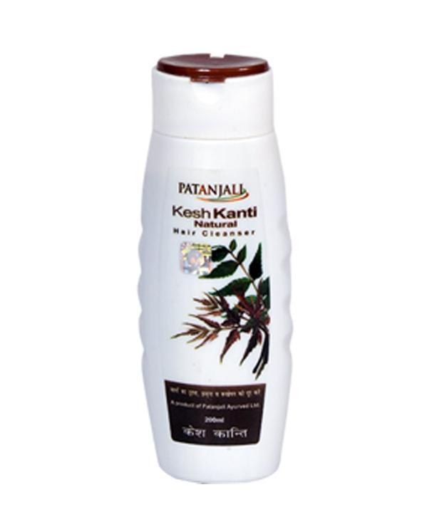 PATANJALI KESH KANTI HAIR NATURAL HAIR CLEANSER SHAMPOO - 200 ML
