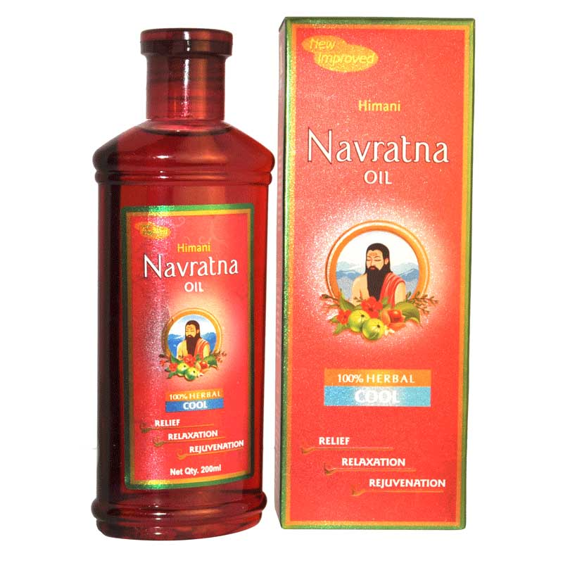 HIMANI NAVRATNA HAIR OIL - NAVARATNA - 200 ML