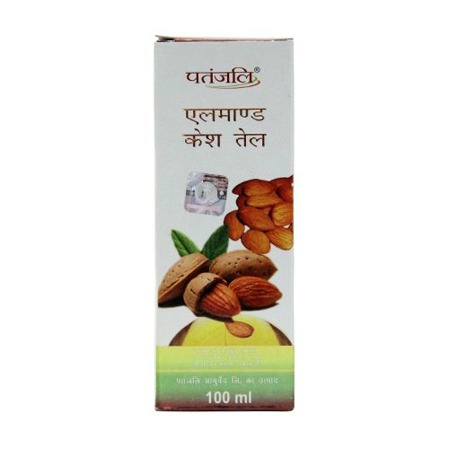 PATANJALI HAIR OIL - ALMOND  - 100 ML