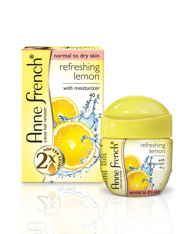 ANNE FRENCH HAIR REMOVAL LEMON CREAM - 40 GM