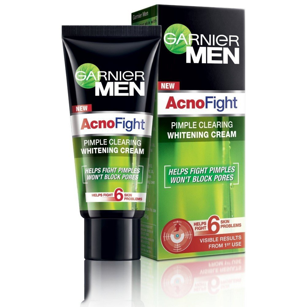 GARNIER MEN ACNOFIGHT WHITENING CREAM - 20 GM