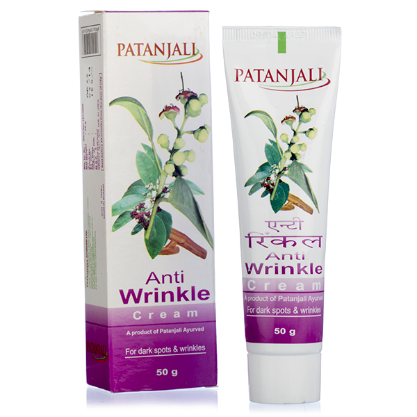 PATANJALI ANTI WRINKLE CREAM - 50 GM