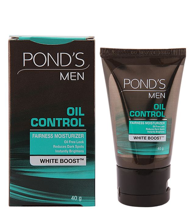 PONDS MEN OIL CONTROL FAIRNESS MOISTURISER - 40 GM