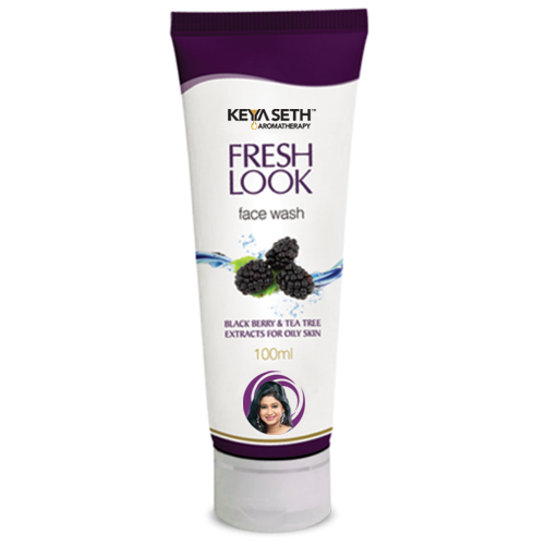KEYA SETH FRESH LOOK FACE BLACK BERRY AND TEA ( FOR OILY SKIN ) WASH  100 ML