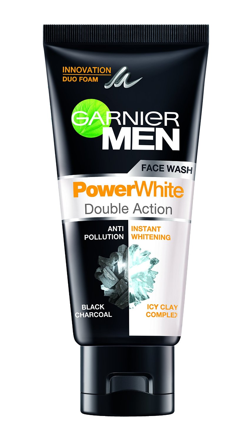 GARNIER MEN POWER WHITE DOUBLE ACTION FACE WASH - 50 GM