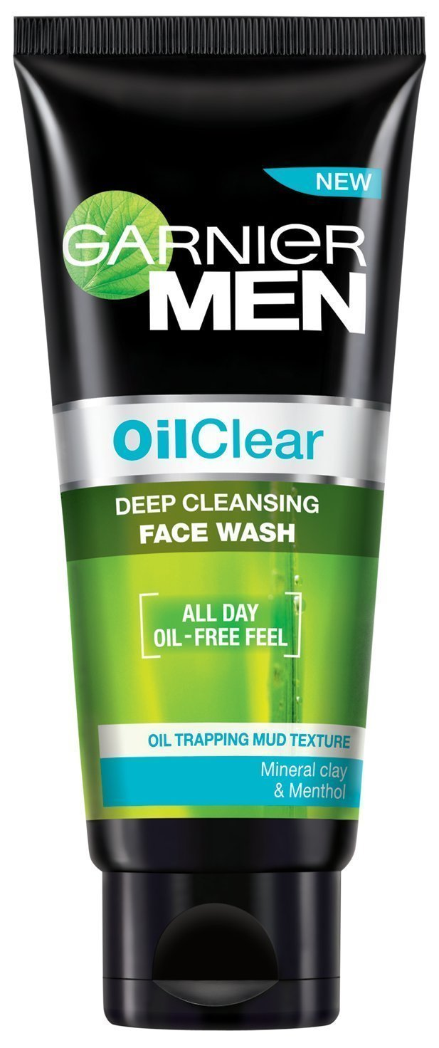 GARNIER MEN OIL CLEAR FACE WASH - 100 GM