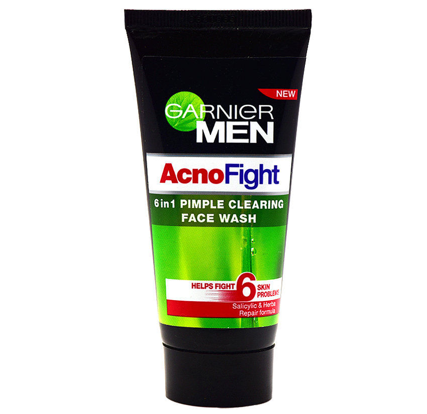 GARNIER MEN ACNO FIGHT FACE WASH - 50 ML