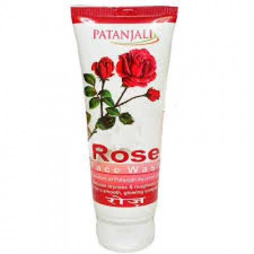 PATANJALI ROSE FACE WASH - 60 GM