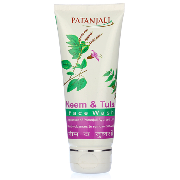 PATANJALI NEEM AND TULSI FACE WASH - 60 GM
