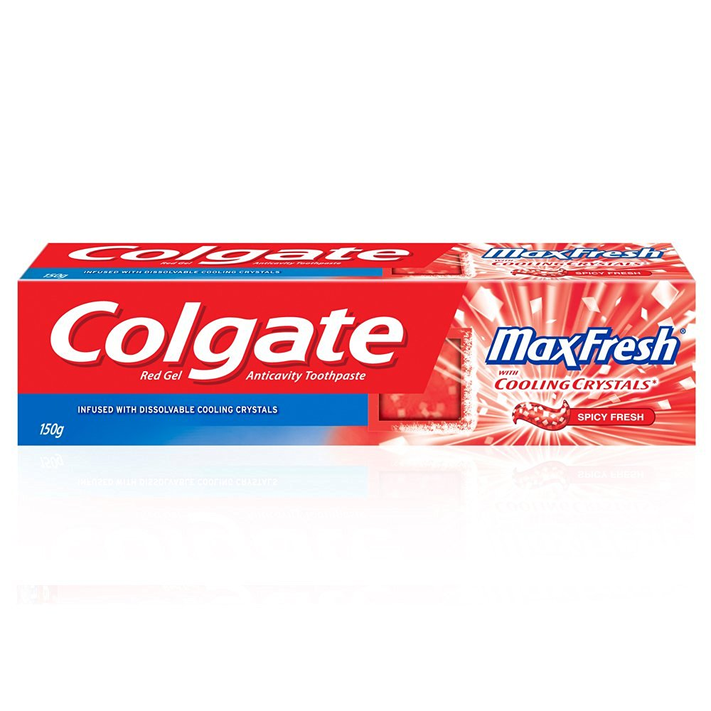 COLGATE MAXFRESH COOLING CRYSTALS RED TOOTHPASTE - 150 GM