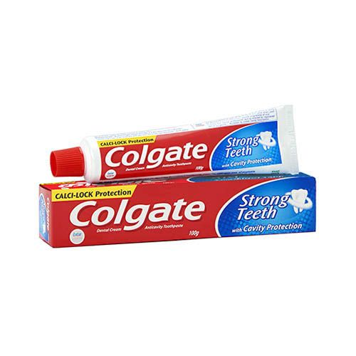 COLGATE STRONG TEETH TOOTHPASTE - 100 GM