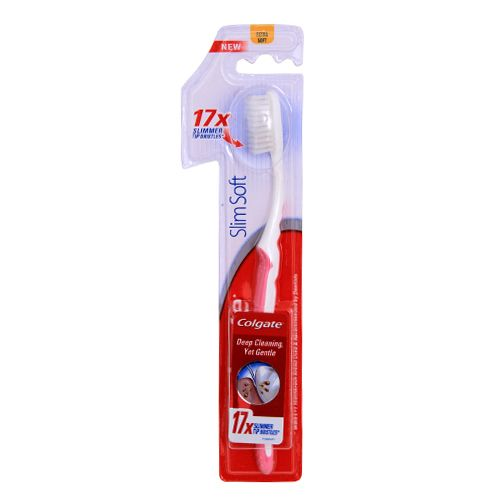 COLGATE TOOTHBRUSH - SLIM SOFT - 1 PC POUCH