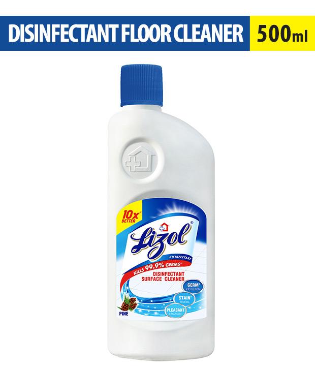 LIZOL FLOOR CLEANER PINE - 500 ML BOTTLE