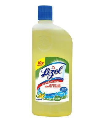 LIZOL FLOOR CLEANER CITRUS - 500  ML BOTTLE