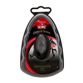 KIWI WAX POLISH EXPRESS SHINE SPONGE BLACK - 7 ML
