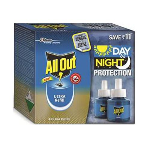 ALL OUT LIQUID ULTRA REFILL TWIN PACK - 45 ML X 2