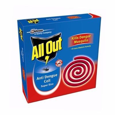 ALL OUT ANTI DENGUE MOSQUITO COIL - 10 PIECES