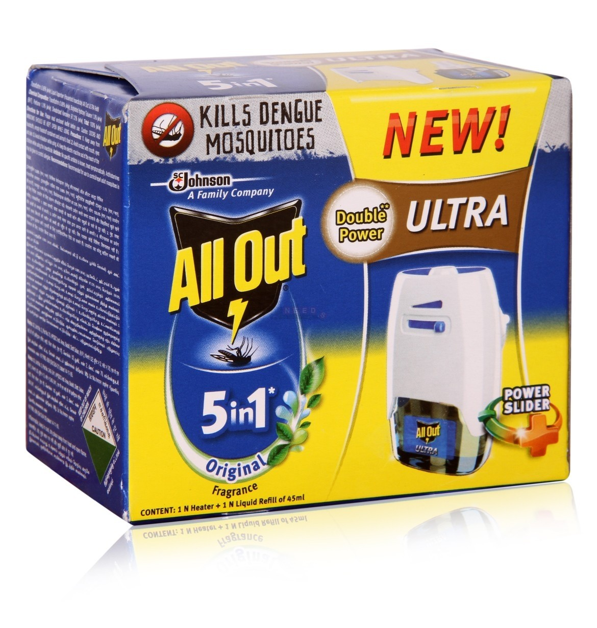 ALL OUT POWER SLIDER MACHINE & REFILL - 45 ML