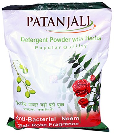 PATANJALI POPULAR DETERGENT POWDER  2 KG