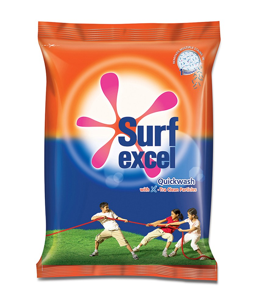 SURF EXCEL QUICK WASH DETERGENT POWDER - 500 GM