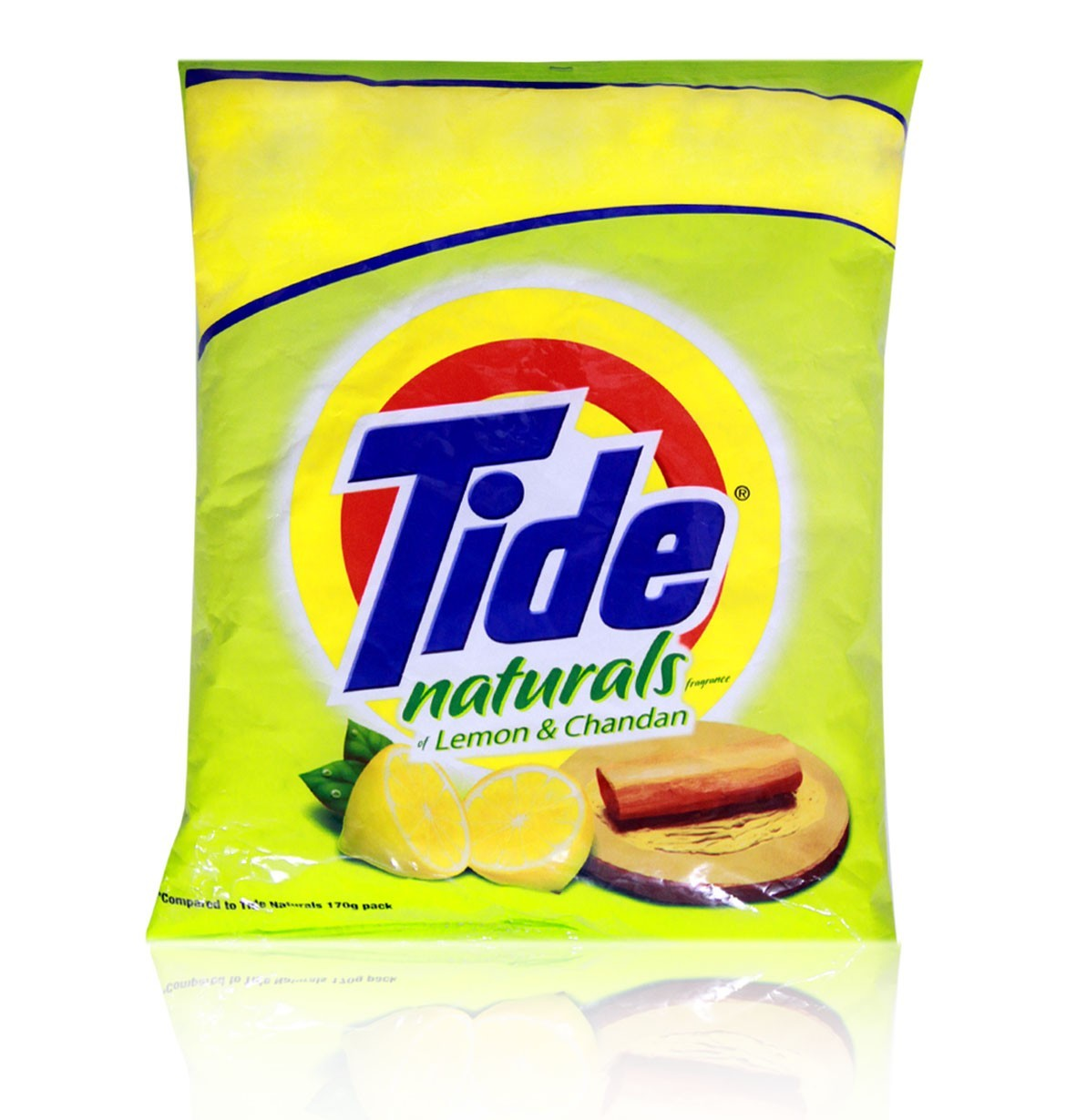 TIDE DETERGENT POWDER NATURAL LEMON & CHANDAN - 500 GM