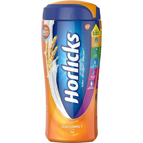 HORLICKS CLASSIC MALT BASED FOOD - JAR - 500 GM
