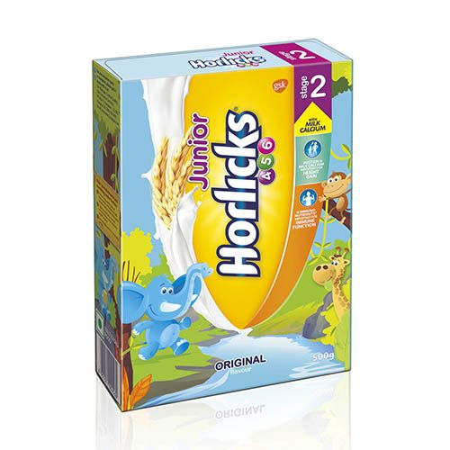 JUNIOR HORLICKS STAGE 2 - REFILL PACK - 500 GM