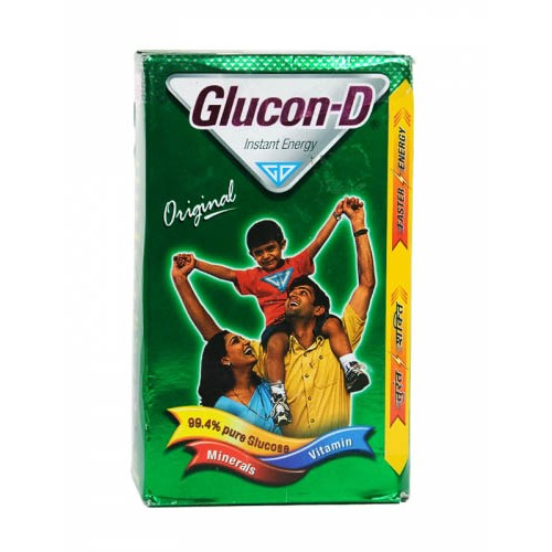 GLUCON D - PURE GLUCOSE ORIGINAL - 125 GM CARTON