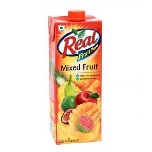 REAL FRUIT JUICE (MIXED FRUIT) - 1 LTR CARTON