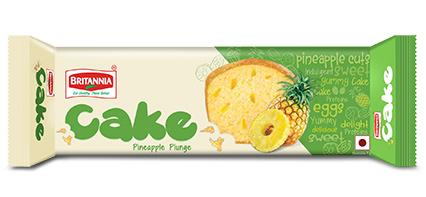 BRITANNIA CAKE PINEAPPLE PLUNGE -  45 GM