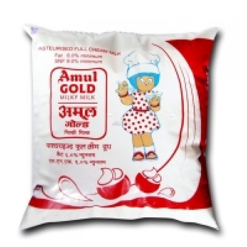 AMUL GOLD FULL CREAM MILK - 500 ML