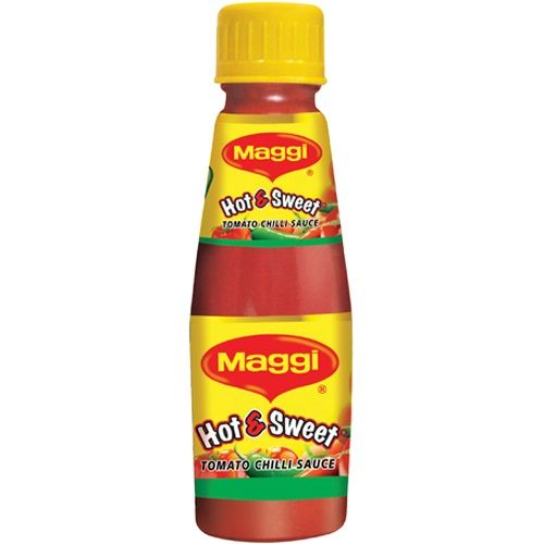 MAGGI SAUCE - HOT & SWEET (TOMATO CHILLI) - 200 GM BOTTLE