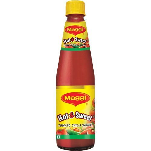 MAGGI HOT & SWEET (TOMATO CHILLI) SAUCE - 500 GM FREE GIFT