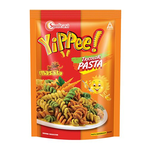 SUNFEAST YIPPEE TRICOLOR PASTA - MASALA -  70 GM