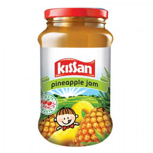 KISSAN PINEAPPLE JAM - 500 GM