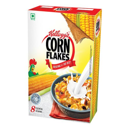 KELLOGGS CORN FLAKES - ORIGINAL - 475 GM CARTON