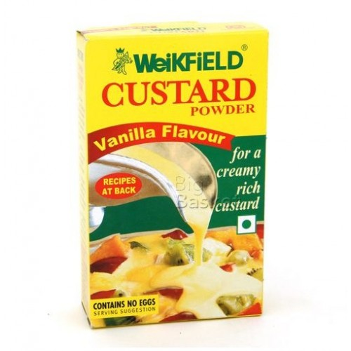 WEIKFIELD VANILLA FLAVOUR CUSTARD POWDER - 75 GM