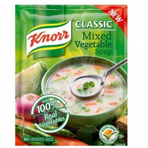 KNORR CLASSIC MIXED VEGETABLE SOUP - 45 GM