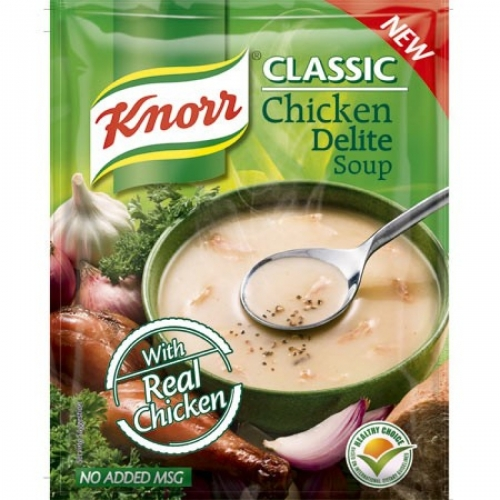 KNORR CHICKEN DELITE SOUP - 44 GM