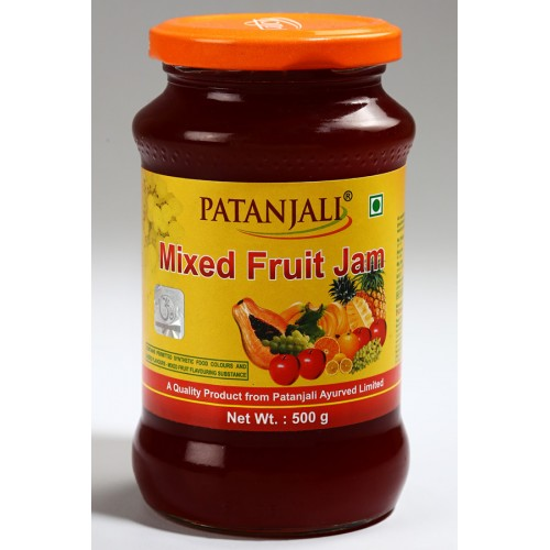 PATANJALI MIXED FRUIT JAM - 500 GM